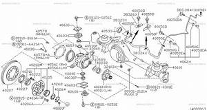 nissan front axle seal diagram nissan auto parts catalog With diagram as well c3 corvette rear bearing support on c5 corvette front