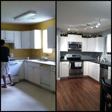Small Kitchen Remodel Before And After On Pinterest
