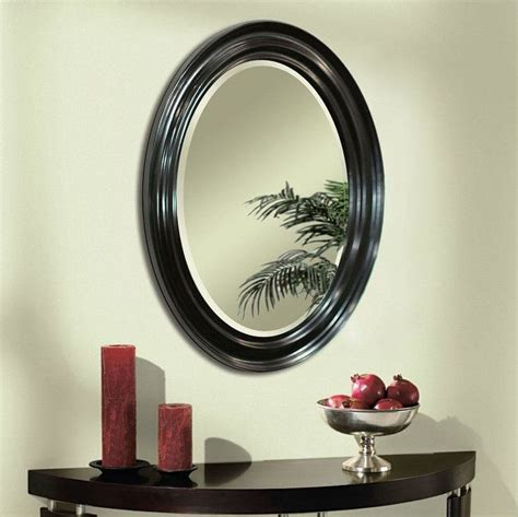 Framed Oval Bathroom Mirror by 1000 Ideas About Oval Bathroom Mirror On
