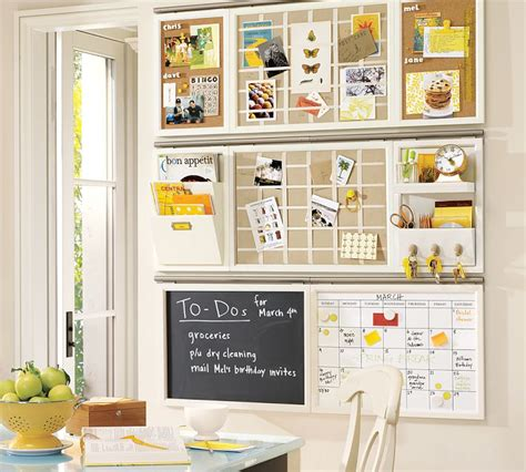 kitchen message board organizer diy erase calendar doodles