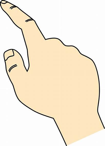 Finger Pointing Clipart Transparent Background Svg Pointed
