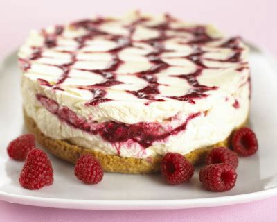 recette cheesecake aux speculoos  son coulis de framboise