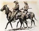 """""""Cracker Cowboys of Florida"""", Watercolor by Frederic ..."""