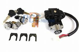 6 Wire Gy6 Key Ignition Switch Lock Set Scooters Moped
