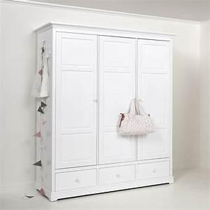 Kleiderschrank 3 Türig Weiß : oliver furniture kleiderschrank 3 t rig wei ~ Indierocktalk.com Haus und Dekorationen