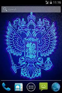 3D Neon Russian Emblem Android Apps on Google Play