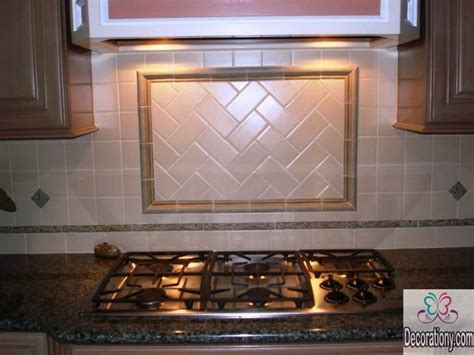 Easy Tile Backsplash : 25 Inspirational Kitchen Backsplash Ideas