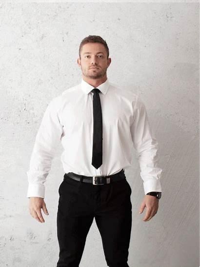 Vs Slim Regular Shirts Tucked Tapered Down