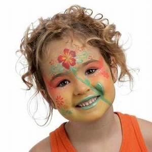Modele Maquillage Carnaval Facile : id es et mod les de maquillage pour enfants faciles r aliser ~ Melissatoandfro.com Idées de Décoration