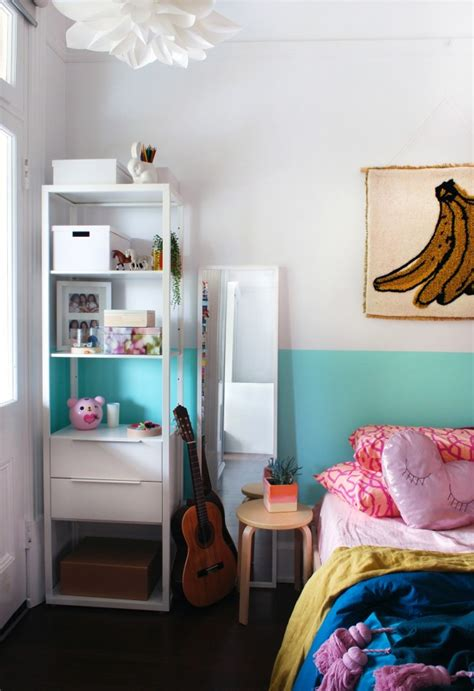 Tiny Bedroom Makeover From Little Girl's Room To Teen