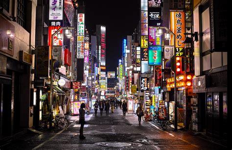 tokyo  night comme vous ne lavez jamais vu lense