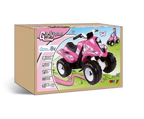 rallye pink quads wheels toys products www smoby