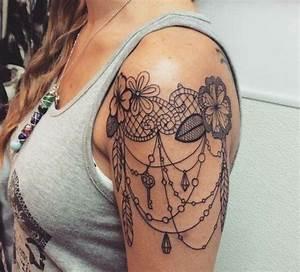 Tatouage Attrape Reve Homme : 1001 id es de tatouage dentelle impressionnant art ~ Melissatoandfro.com Idées de Décoration