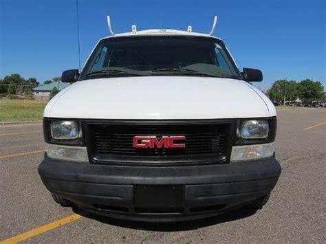 old car repair manuals 2002 gmc safari electronic valve timing purchase used 2002 gmc safari van awd cargo v6 w racks runs well 1 company no salt history in