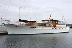 1966 STEPHENS BROS 6539 Classic MotorYacht Power Boat For