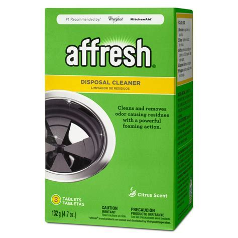 Affresh Disposal Cleaner Tablets W10509526   The Home Depot