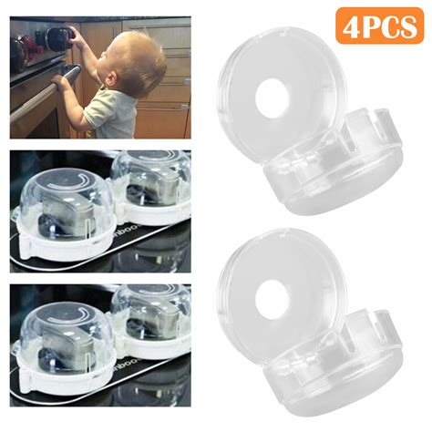 universal oven stove knob covers clear view child baby