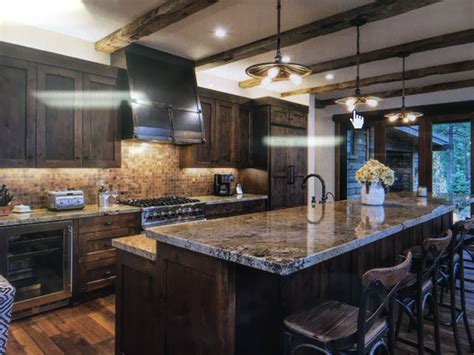 20+ Appealing Kitchen Decor Brown Cabinets