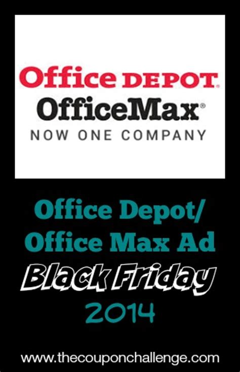 Office Depot Coupons November 2014 by 2014 Office Depot Office Max Black Friday Ad
