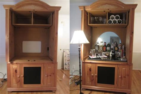 Wardrobe Cabinet Home Depot: DIY Turn An Old Armoire Into A Home Bar Cabinet! Got This