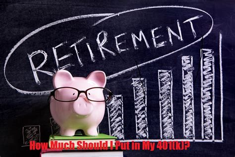 How Much Should I Put Into My 401(k)?  Robergtaxsolutionscom