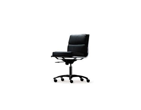 fauteuil bureau sans accoudoir fauteuil réunion rembourré cuir light dos bas roulettes