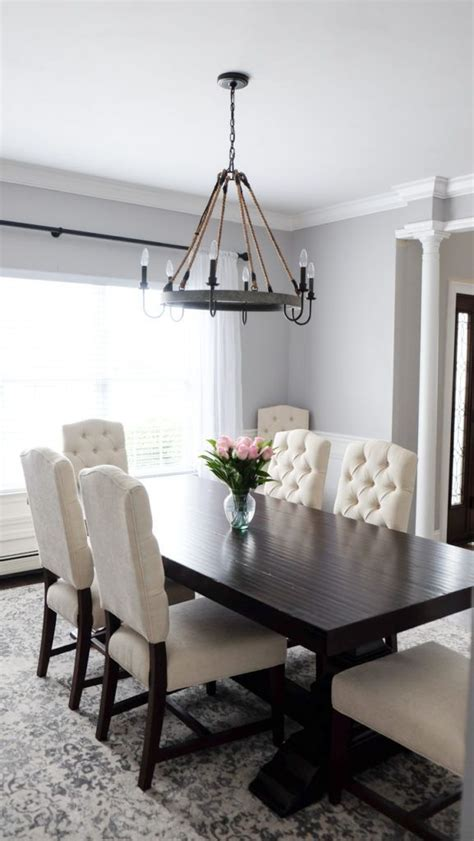 white dining table ideas  pinterest