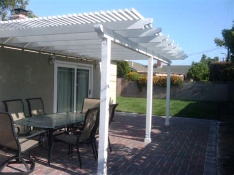patio cover and pavers
