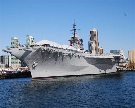 city san diego uss midway  wallpaper