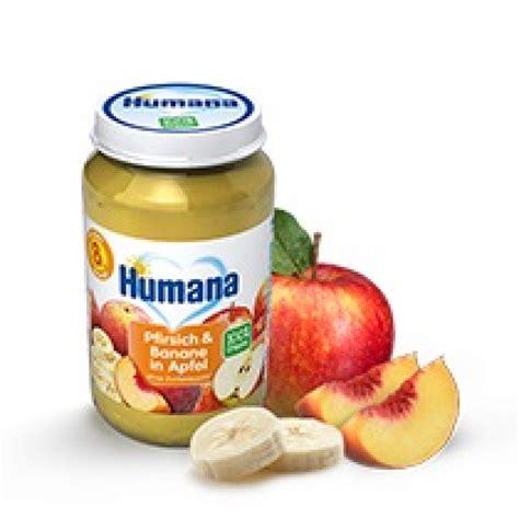Humana Bio Persiku, banānu un ābolu biezenis, no 8 mēn ...