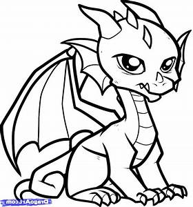 Pictures Of Easy To Draw Dragons Easy Drawing Dragons How ...