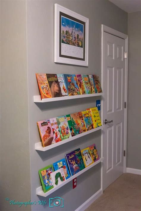 Childrens Bookcase Ikea by Ikea Picture Ledges For Childrens Front Facing Book
