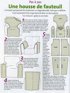 comment faire une housse de chaise photo comment coudre un housse de canape recouvrir fauteuil canapés photos et