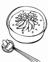 Rice Coloring Designlooter sketch template