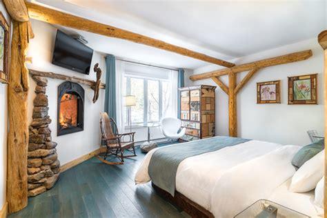 chambre foyer 15 magnifiques chambres en mauricie qui font r 234 ver