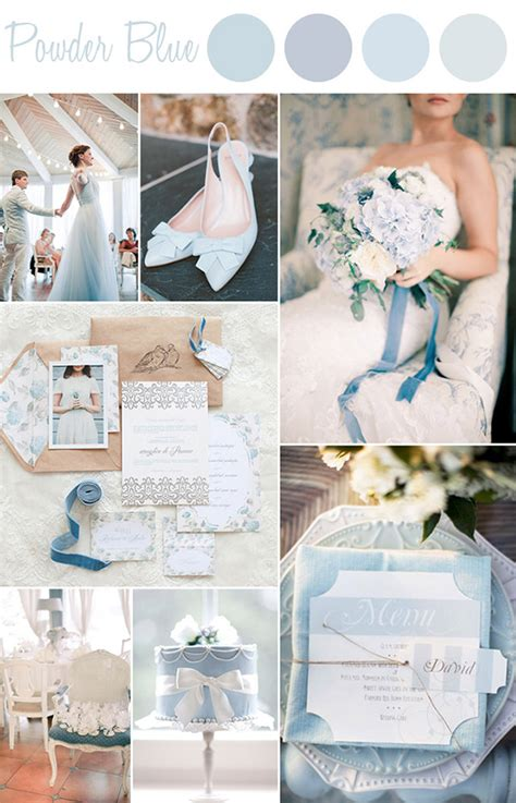 blue wedding color schemes 6 shades of blue wedding color ideas and wedding