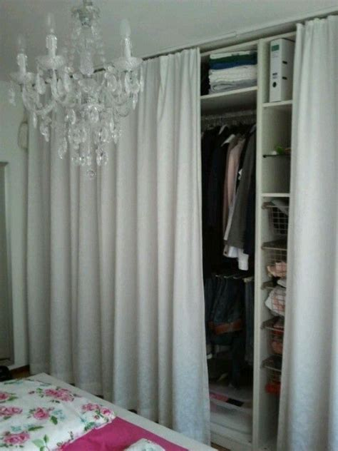 curtain closet ideas  pinterest curtain wardrobe closet  curtains  curtains