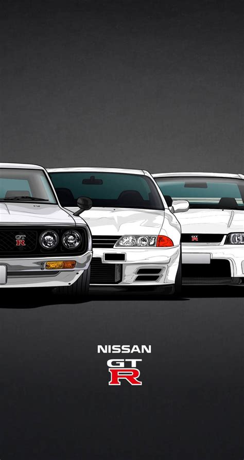 nissan gtr iphone  wallpaper wallpapersafari