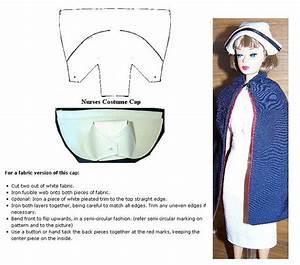Barbie Nurse Cap Instructions