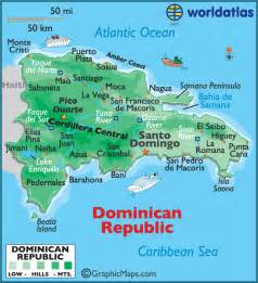 Map of Punta Can a Dominican Republic Island