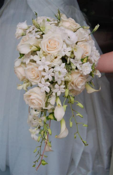 cascade bridal bouquet my wedding ideas wedding