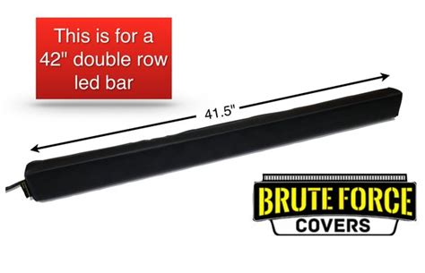 42 inch row led light bar cover brute