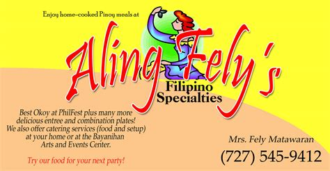 philfest  food vendors philippine cultural