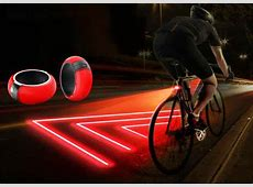 Bike Zone Device Creates a Lighted Safety Zone for Night