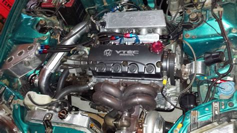 honda civic hatchback built sleeved turbo dz