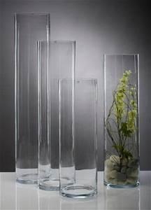 Glasvase 50 Cm Hoch : glasvase vase glas blumenvase bodenvase zylinder gro 75 cm online kaufen bei woonio ~ Bigdaddyawards.com Haus und Dekorationen