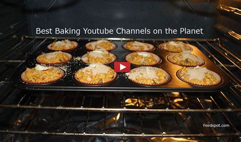 top  baking youtube channels  baking recipes tips