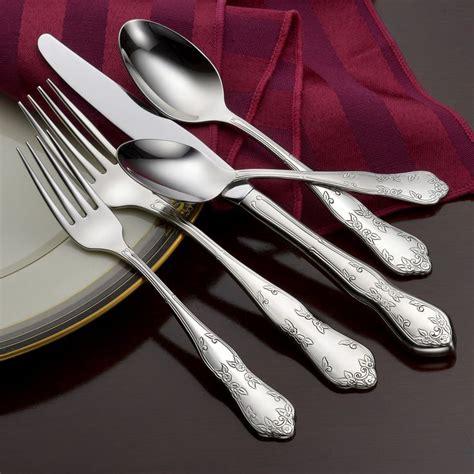 flatware usa washington martha liberty tabletop pattern shape stainless piece
