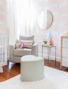 A Pink Bunny Nursery with Target & Emily Henderson