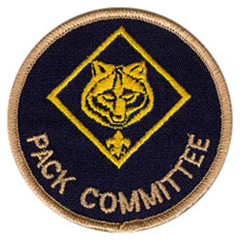 Cub Scout Committee Chair by The Pack Committee Pack 3402